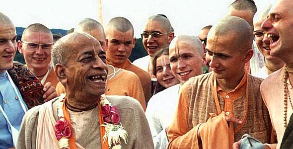 Šrila Prabhupada i bhakte
